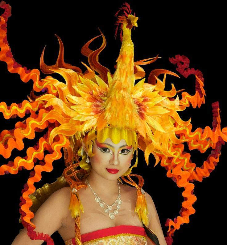 phoenix fire costume