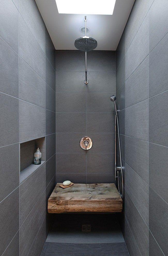 Badezimmer ideen für kleine bäderluxus badezimmer  Die besten 25+ Sdb contemporaine Ideen auf Pinterest   Salle de ...