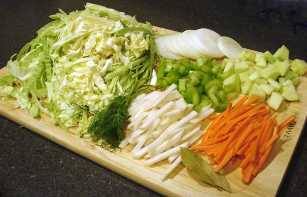 Cabbage soup - this recipe is sure to surprise with fresh dill and ...