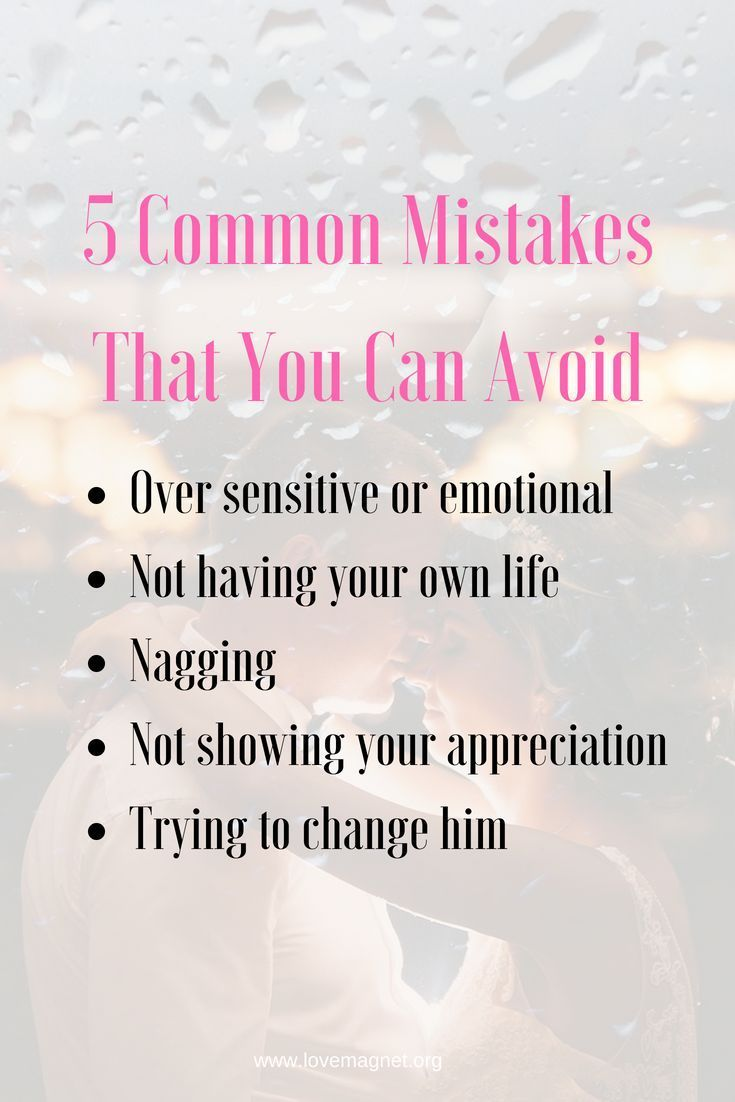 how to get over past mistakes in a relationship