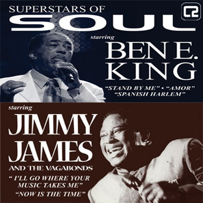 60's Soul and Motown night is coming to Brighton on Friday 20th September with soul legends Ben E King and Jimmy James, plus his band The Vagabonds! This night will be oozing with 60's and 70's soul classics and is a must see for any for any soul or motown fan. Get your tickets for £24.50 + bf in adv before it's too late by clicking the image above!