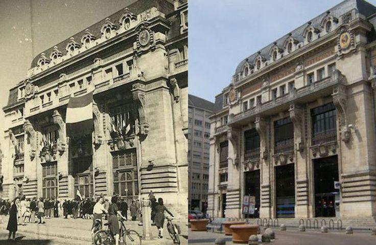 El verano pasado, un hombre encontró una colección de fotos de la Segunda Guerra Mundial de su ciudad natal Dijon, Francia.