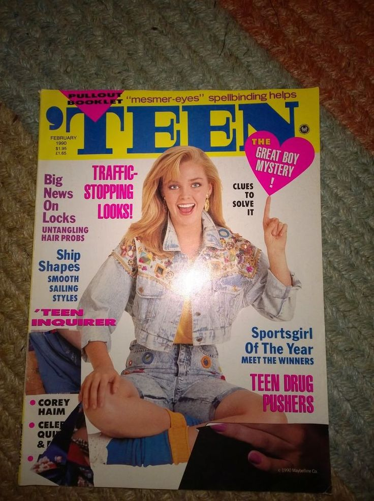 Teen mag cover