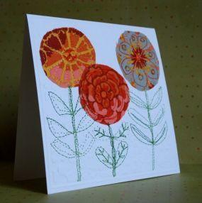 Handmade Sewn Greeting Cards! - CraftStylish