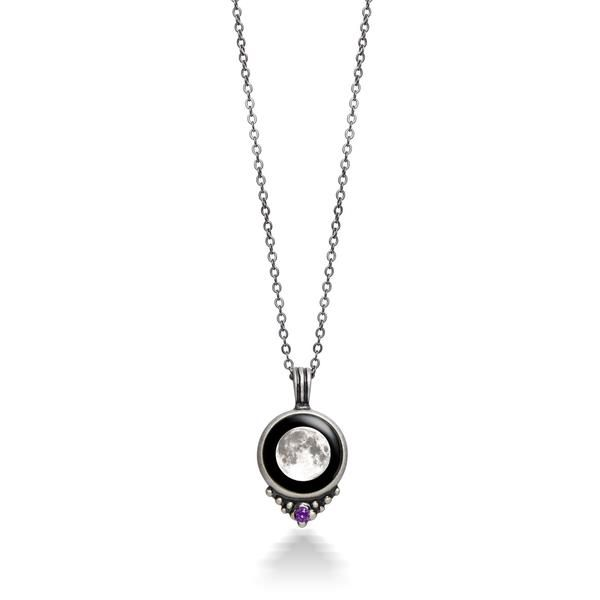 Glow in the Dark Your Custom Birth Moon Date Necklace or Key Chain Charm Personalized Glowing Birthday Lunar Phase Pendant