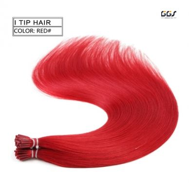 I Tip Hair Extensions 4 Colors Straight Wave Brazilian Hair Unprocessed Virgin Remy Hair Weaves 5A 100g