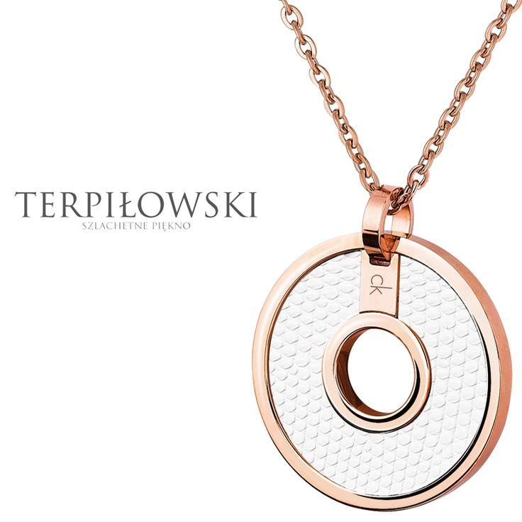 Piękna biżuteria Calvin Klein dostępna w Salonach Terpiłowski
