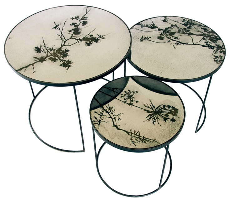 Side Tables : Nesting Table Set/3