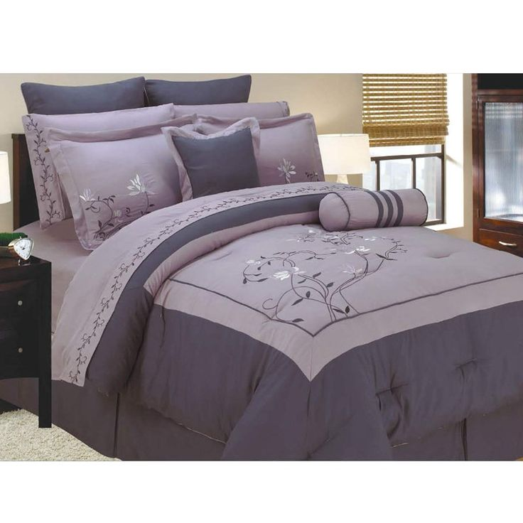 I love the colors :) 12pc Queen Bedding Set