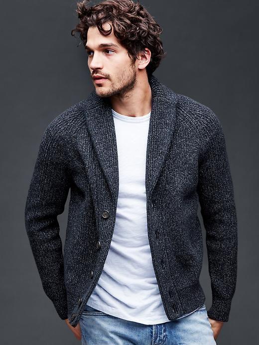 Marled shawl cardigan | Gap