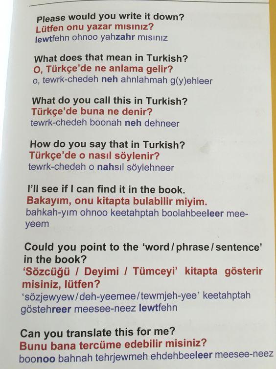 Dil sorunları - language problems 2: