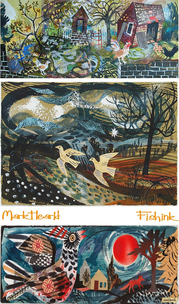 Mark Hearld, Illustrator. Check out my blog ramblings and arty chat here www.fishinkblog.w... and my stationery here www.fishink.co.uk , illustration here www.fishink.etsy.com and here http://www.fishink.carbonmade.com/projects/4182518#1 Happy Pinning ! :)