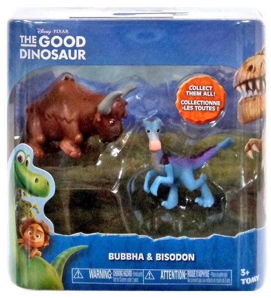 Disney Pixar The Good Dinosaur Bubbha & Bisodon Mini Figure Set
