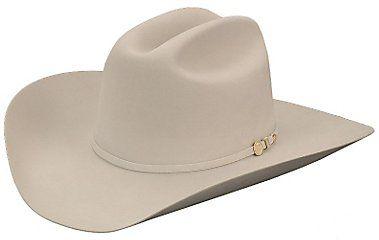 4ef6d5b7ae4 Stetson 100X El Presidente Silverbelly Felt Cowboy Hat