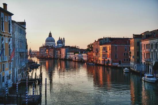 Canal Grande Venetië, Italië
