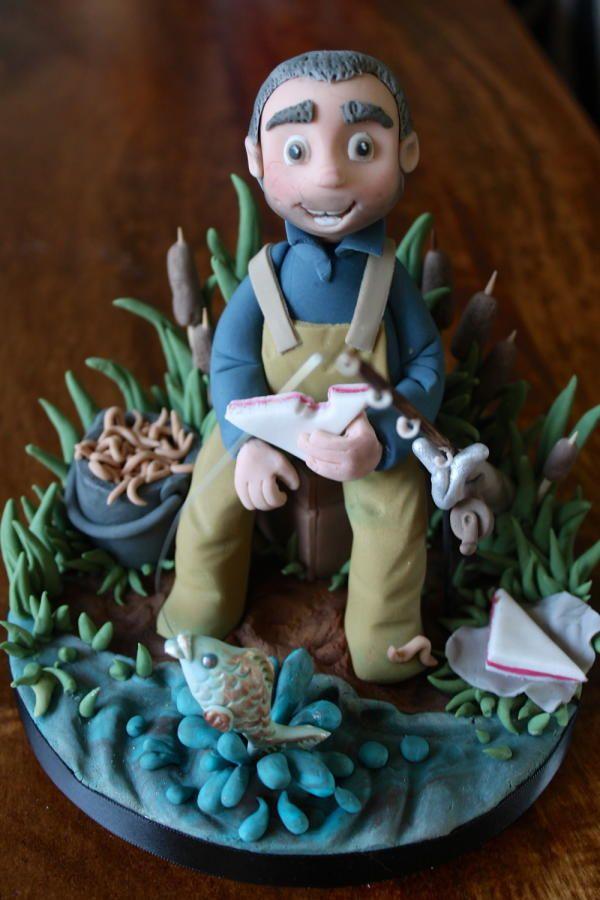 Best 25 Fisherman Cake Ideas On Pinterest Fishing Cakes