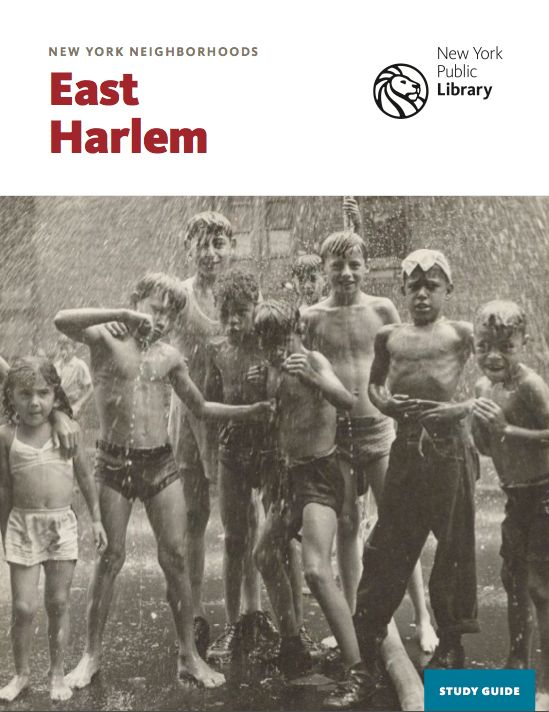 #TeachNYPL #CommonCore - NYC Then & Now: Our Study Guide to East Harlem. Fully downloadable PDF with census records, archival maps, Venn diagrams, text dependent questions and more. Common core aligned texts and tasks for Grades 6-12 http://www.nypl.org/sites/default/files/EastHarlemGuide.pdf