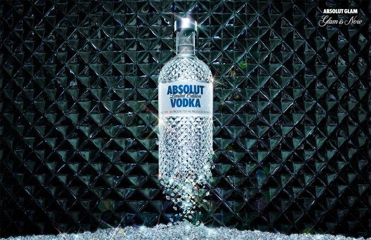 Absolut Vodka Glimmer Limited Edition, Sweden.