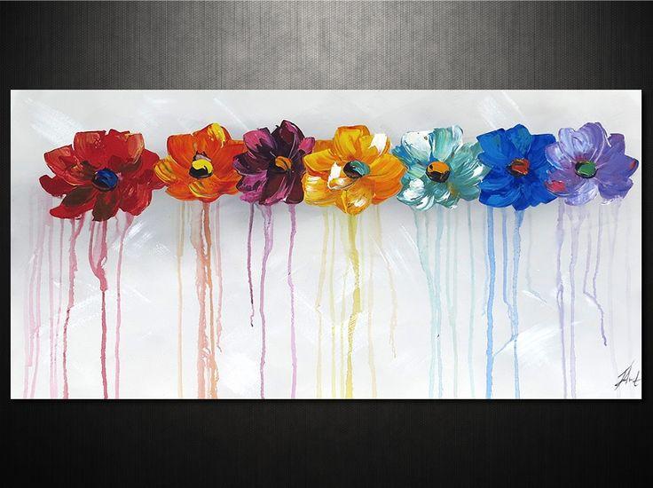Modern lakásdeoráció festett vászonképekkel www.ovardesign.hu cikkszám: 6501