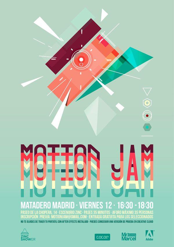 Motion Jam, sesión de motion graphics con Cocoe ¡gratis!