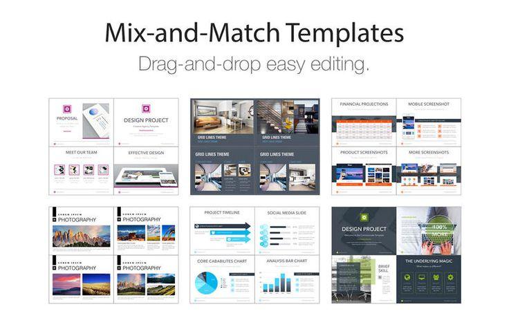 Creative Templates for Keynote by Deeda Designs