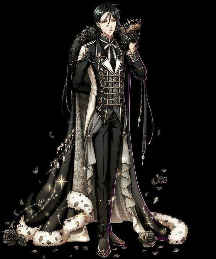 """Black Butler. Sebastian Michaelis. Kuroshitsuji """"Book of the Atlantic"""" collaboration with otome mobile game """"100 Sleeping Princes & Kingdom of Dreams"""" #黒執事"""