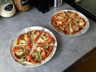 Diary of a Sauce Pot: Tortilla Pizzas