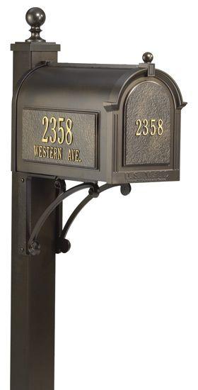 Custom Whitehall Mailbox Package