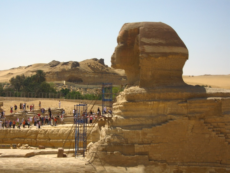 The Great Sphinx, Egypt    Photo by Emiliano López