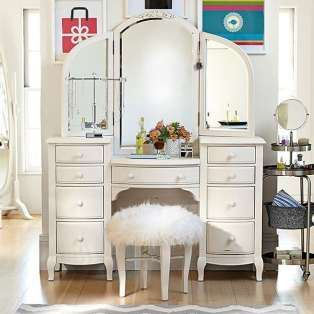 Decorating Ideas > Lilac Vanity  Around The House  Pinterest  Lilacs  ~ 125706_Dorm Room Vanity Ideas