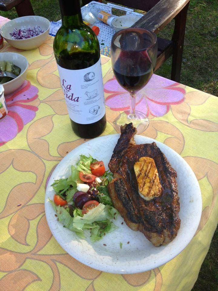 Black Angnus steak