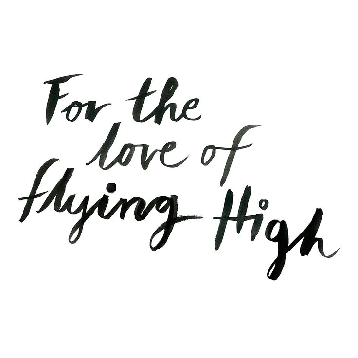 For the love of flying high www.oddmolly.com