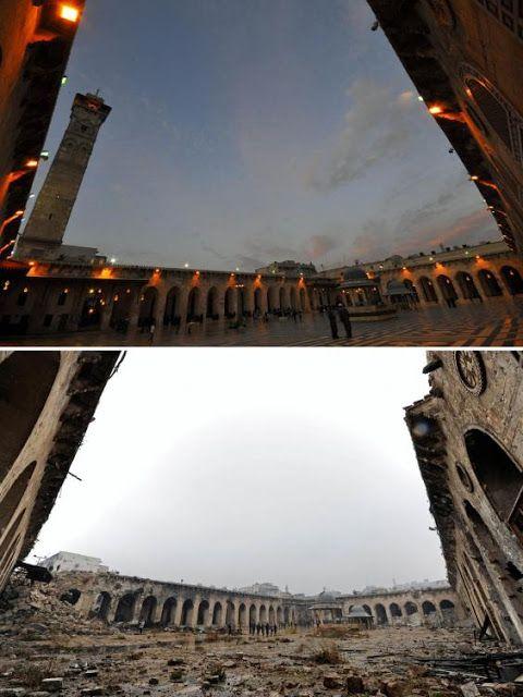 25 Fotos de Siria antes y después de la guerra. Rusia y EU quier