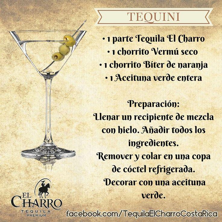 Tequini, con Tequila El Charro! #Tequila #TequilaElCharro #Coctel #Cocktail #Tequini
