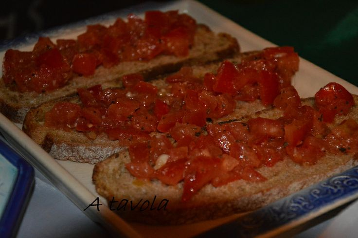 ** Tartines à la Tomate ~ A Tavola ** http://didicucinare.canalblog.com/