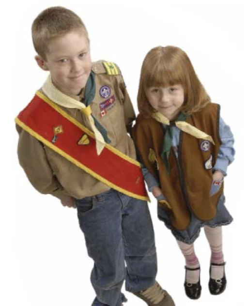 5 age-appropriate co-ed Sections: 1. Beaver Scouts (ages 5-7) 2. Cub Scouts (ages 8-10) 3. Scouts (ages 11-14) 4. Venturer Scouts (ages 14-17) 5. Rover Scouts (ages 18-26)