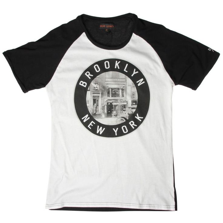 Dead Legacy Brooklyn T-Shirt / Black  White