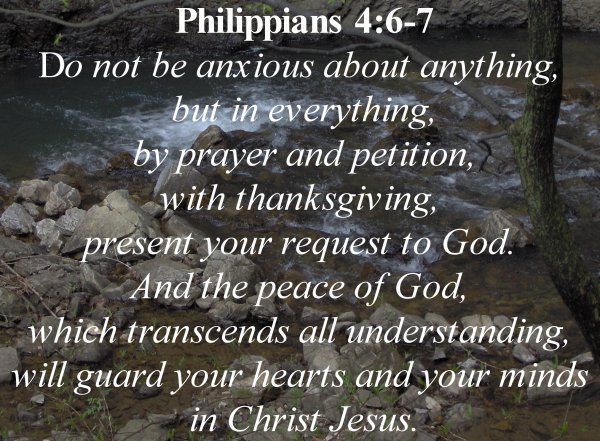 Image result for Philippians 4 vs 6-7 - 6