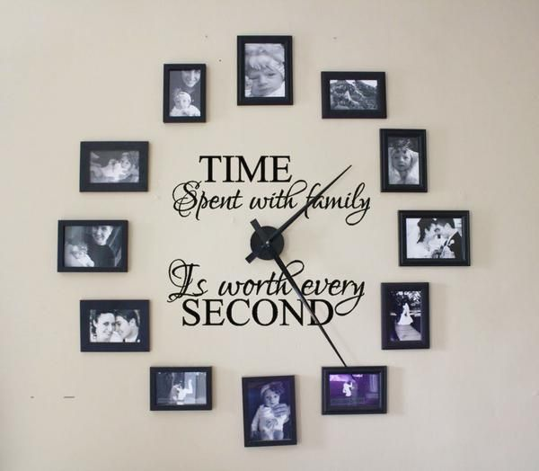 Time Spent With Family is Worth Every Second Wall Decal