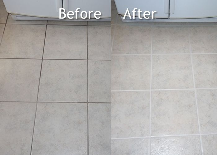 How to clean tile grout like a pro - Homemade recipe.