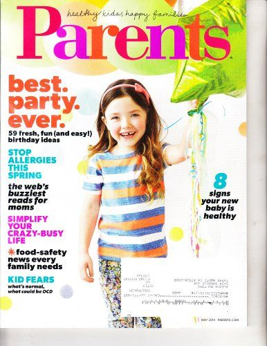 Office Products - Parents Magazine May 2014 Best Party Ever *** Click image for more details.
