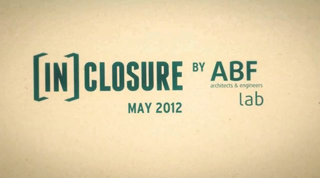 This video was produced by ABF-lab for the project In-Closure and through the Design Ideas Competition for the next 50 in Seattle.  The project addresses several issues about public space focusing on social and environmental aspects. IN-Closure won the First Price.  // follow us on Facebook :  http://www.facebook.com/pages/ABF-Lab/561245247224473?ref=ts&fref=ts  // twitter :  https://twitter.com/abf_lab  // website : http://www.abf-lab.fr/