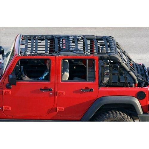 Safari Straps Jeep Jk 4dr Warrior Long Cage Set Paracord