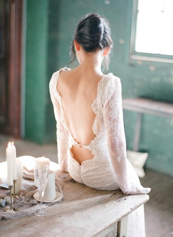 wedding dress idea; Photography: Jemma Keech via Once Wed