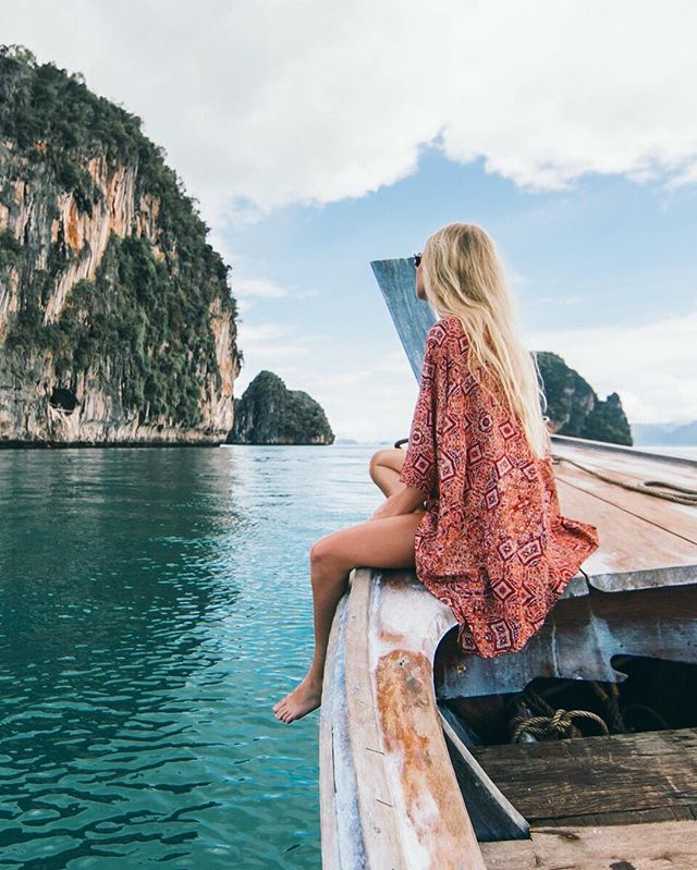 Island hoppin' around Koh Yao Noi was one of my favorites We are back in the cold after an amazing two weeks in the tropics. Thailand has blown us away and we are so thankful! ❤️