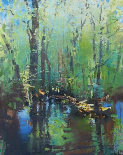 The Flooded Grove, painting by artist Randall David Tipton