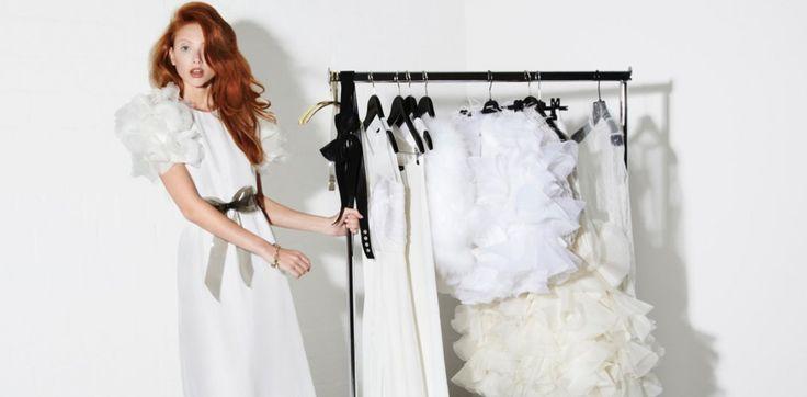 Ladys, unser Hochzeitstraum wird wahr! Der Kaviar Gauche Brautkleid Sale kommt