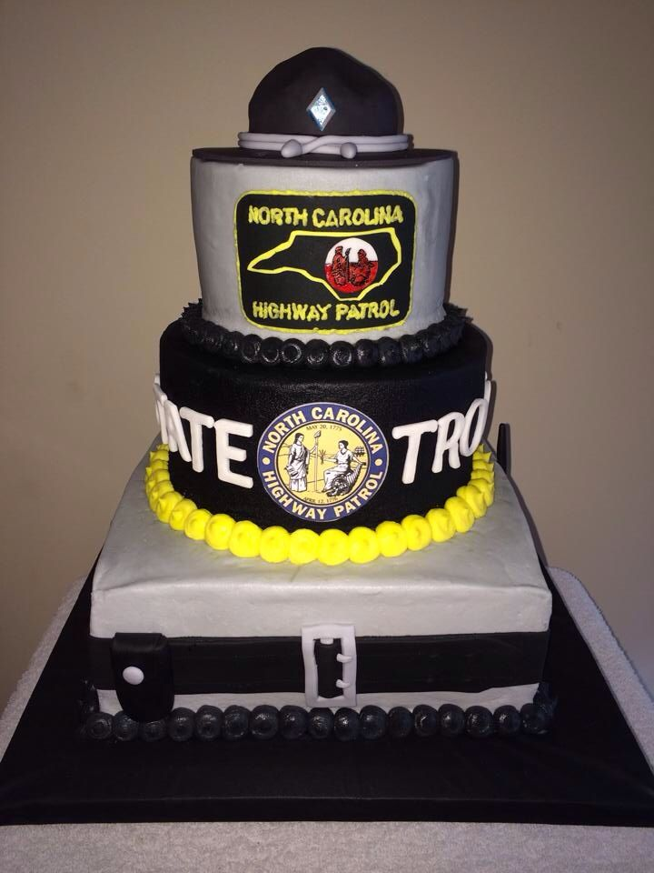 NCSHP Cake, AWESOME! | State Trooper's | Pinterest ...