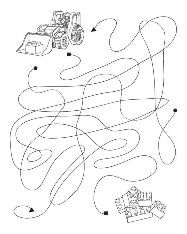 Assorted Maze Activity Sheets Birthday Parties Lego