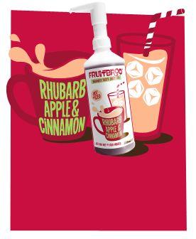 Rhubarb Apple & Cinnamon 500ml #juicy #fruit #tea